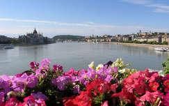 A Duna látképe, Budapest, Magyarország