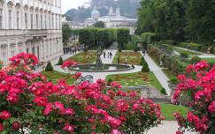 Salzburg, Mirabell kastély parkja ,Ausztria