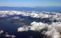 Olaszország, felhők Calabria (a