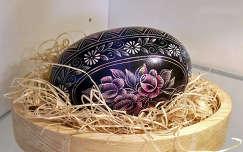 hímes tojás egy muraszombati múzeumban (Szlovénia)