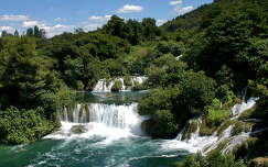 Krka Nemzeti Park, Horvátország.