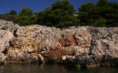 Adria sziklái, Horvátország.