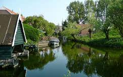 Nederland-Spaarndam, het Vaartje