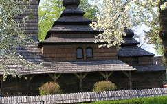 Ungvári skanzen temploma,Kárpátalja ,Ukrajna