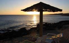 Nap lefelé, Lanzarote, Kanári-szigetek