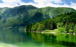 Bohinji tó - Szlovénia.