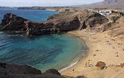 Playa Papagayo, Lanzarote, Kanári-szigetek