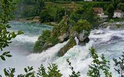 Rajna vízesés, Schaffhausen, Svájc
