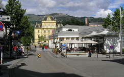 Bad Ischl főtere, Ausztria