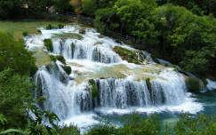 Krka-vízesés, Horvátország