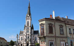 Magyarország, Kőszeg, Fő tér, Jézus Szíve templom