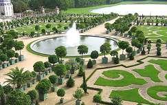 A Versailles-i kastély narancskertje