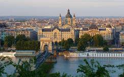 Budapest, Duna, Lánchíd