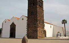 La Oliva temploma, Fuerteventura, Kanári-szigetek
