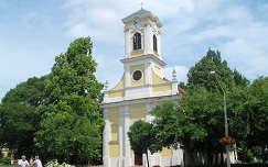 Szarvas - Katolikus templom - fotó: Kőszály