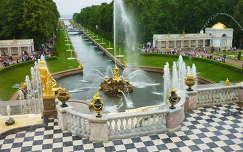 Petrodvorec, Nagy péter palotájának szökőkútjai  Oroszország