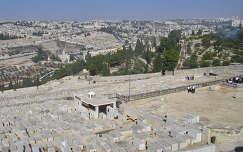Jeruzsálem, zsidó temető Izrael