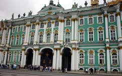 Téli palota, Ermitázs Szentpétervár Oroszország