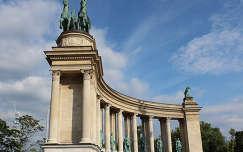 Magyarország, Budapest, Hősök tere, Millenniumi emlékmű