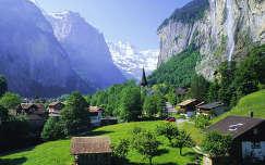 Staubbach-vízesés, Svájci Alpok