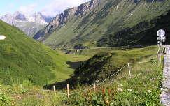 Arlberg hágó. Ausztria