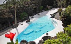 Jameos del Aqua kékje, Lanzarote, Kanári-szigetek