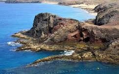 Papagayo öböl sziklája