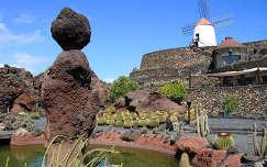 El Jardin del Cactus, Lanzarote, Kanári-szigetek