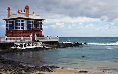 Kék ház öble, Lanzarote, Kanári-szigetek
