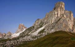 Olaszország - Dolomitok - Passo Giau - odafent a Nuvolau menedékház