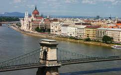 Budapest - látvány a budai várból