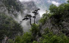 Piva kanyon Montenegro kora reggeli orákban.