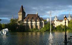 Magyarország, Budapest, Városligeti-tó, Vajdahunyad vára