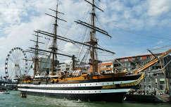 Amsterdam, The Sail 2010 Amerigo Vespucci                   (1680X1050)