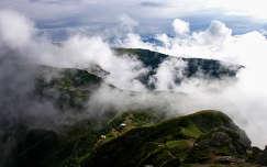 Románia - Kárpátok - a Csalhó felhőkben
