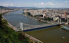 Budapest - látvány a Gellért-hegyről