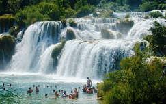 Krka-vízesés Horvátorszgában