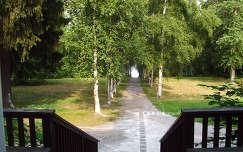 Finnország, park Tamperében