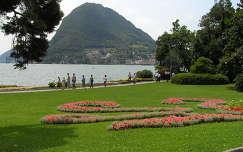 Lugano a Salvatore heggyel,Svájc