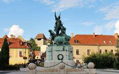 Magyarország, Eger, Dobó tér, Dobó István szobra