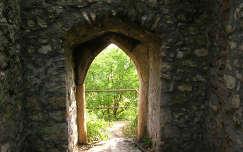 Siklósi Vár - Átjáró a várfalon