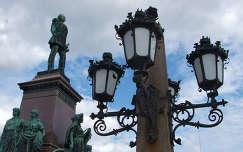 Helsinki főtere, II. Sándor cár szobra