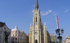 Novi Sad főtere,Szerbia