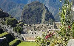 lépcső machu picchu romok peru hegy