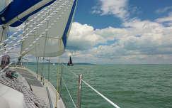 magyarország vitorlás balaton nyár tó