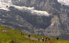 Jungfrau,Kleine Schneidegg állomásnál, Svájc