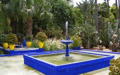 Marokkó-Marrakech Jardin Majorelle