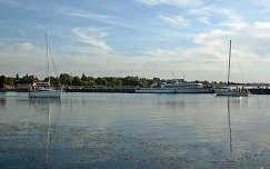 Magyarország, Balatonszemes, kikötő