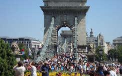 Budapest, Lánchíd (2011 augusztus 20.)