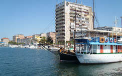 Zadar, kikötő, Horvátország